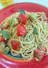 フレッシュミントのトマトパスタ
