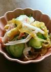 簡単♪中華くらげとカニカマと胡瓜の和え物
