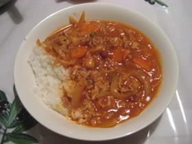 缶入りスープで簡単ハヤシライス