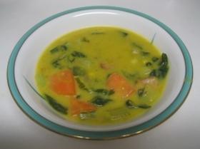 お野菜たっぷり缶入りスープで簡単シチュー