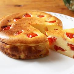 トマトのチーズケーキ
