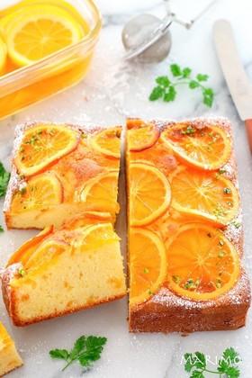 しっとりふわふわ*オレンジケーキ