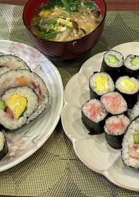 豪華♪海鮮巻き寿司
