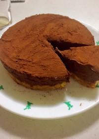 簡単!生チョコケーキ♡