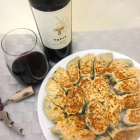 お腹に優しい&ワインに合う合う餃子