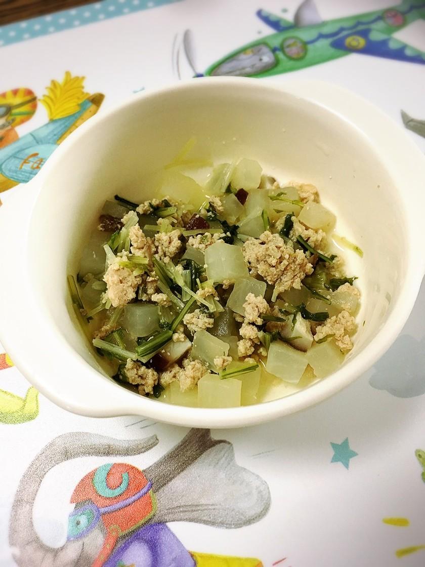 離乳食 完了期☆大根と水菜の煮物