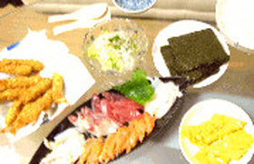 節約手巻き寿司