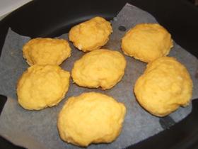 フライパンで作る焼き蒸しパン