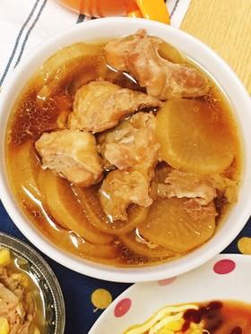 炊飯器で簡単!鶏肉と大根の煮物