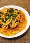 豚肉細切り焼きそば✤青椒肉絲麺
