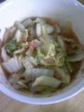 ☆電子レンジで簡単。白菜のさっと煮☆