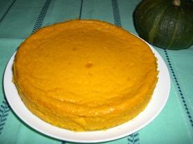 柔らかかぼちゃケーキ