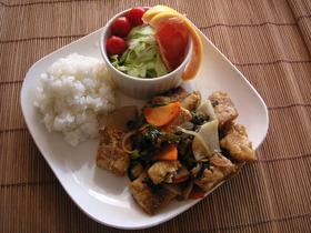 ダイエット&節約に♪凍り豆腐の和風酢豚風