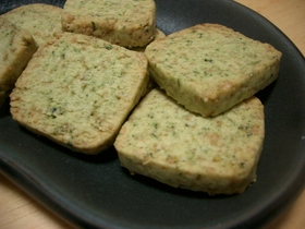 小松菜のクッキー