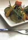 あまり夏野菜のカレー風味のラタトゥイユ
