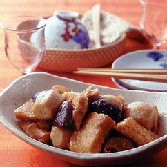 めかじきと里いもの中華煮