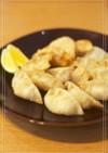 褒められ♡鱈と海老の揚げ餃子