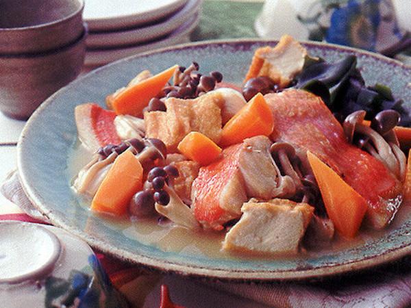 きんめ鯛のあっさり煮