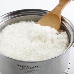 ステンレス鍋で炊く白ごはん