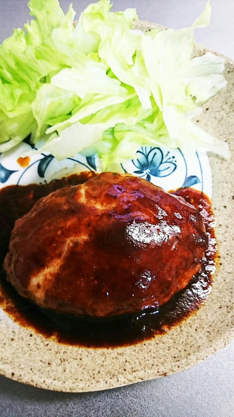 豚ひき肉の簡単ハンバーグ