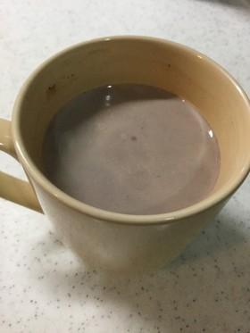 【寝る前にどうぞ】ホットソイミルクココア