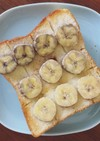 バナナハニーシュガートースト