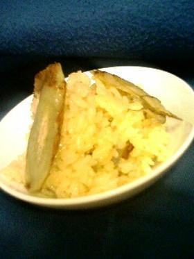 何にでも合う♪ごぼうバターの炊き込みご飯