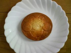 豆腐とバナナ入りホットケーキ