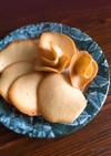 余った卵白や米油で!ラングドシャクッキー