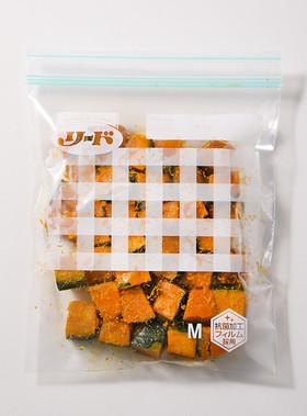 保存バッグ作り置き かぼちゃの煮物風