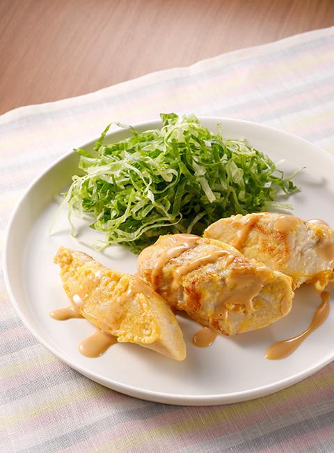 鶏胸肉のマヨテリソース