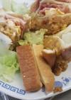 四国のサンドイッチ