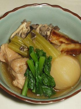 冬色☆鶏とかぶの治部煮風