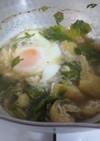 鍋底に付かない☆落とし卵味噌汁。