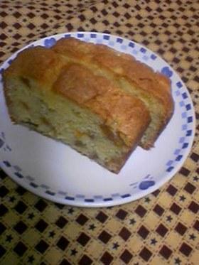 ホットケーキミックスで★柿パウンドケーキ