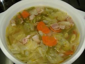 初めての野菜スープ