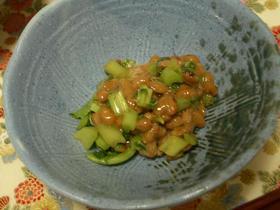 ☆大根葉と納豆のおつまみ小鉢★