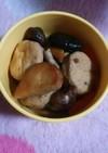 がんもどきと椎茸の煮物