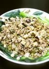 台湾風とろみ無しあんかけ麺:豚肉醤乾麺風