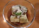 焼き茄子の麺つゆ漬け