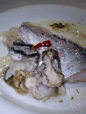 ニシンと牡蠣のマリネ