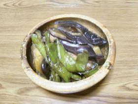 【京都丹波】なすと万願寺とうがらしの煮物