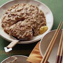 ひき肉と豆腐の中華蒸し
