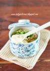 中華ひき肉の茶碗蒸し