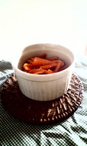 とっさの一皿:にんじんのサラダ
