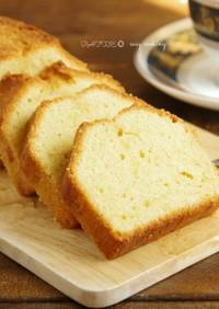 ☆簡単☆しっとりメープルパウンドケーキ