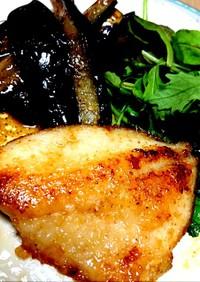 焼いて絡めてウマウマ白身魚のバターソテー