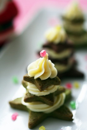 クリームチーズでクリスマス☆プチフール