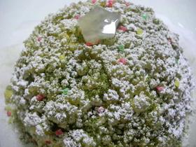 クリスマスお楽しみレアーチーズケーキ
