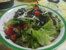 サニーレタスの韓国風サラダ